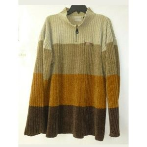 Enyce Sweater Brown Size XL Long Sleeve He…